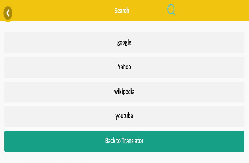 Easy Translator Arabe French- screenshot