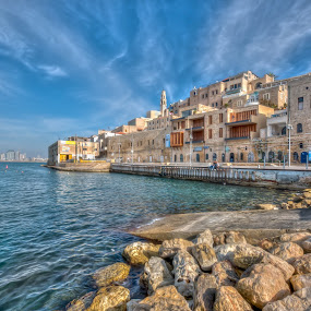 Jaffa Port by Ron Stollman - Landscapes Travel