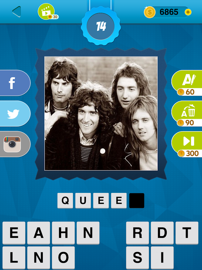 70's Quiz Game- screenshot