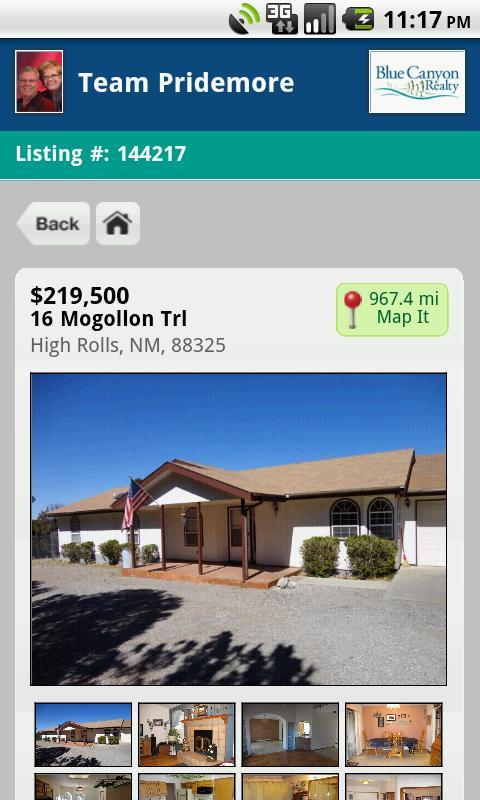 Alamogordo Cloudcroft Homes- screenshot