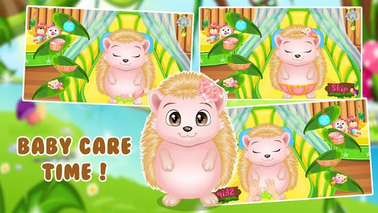 Baby Hedgehog Caring- screenshot thumbnail