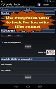 Karaoke - Sing Me- screenshot thumbnail