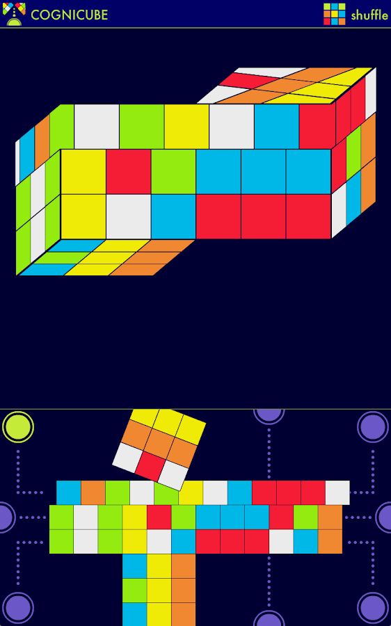 Cognicube HD: Cube Puzzle - screenshot
