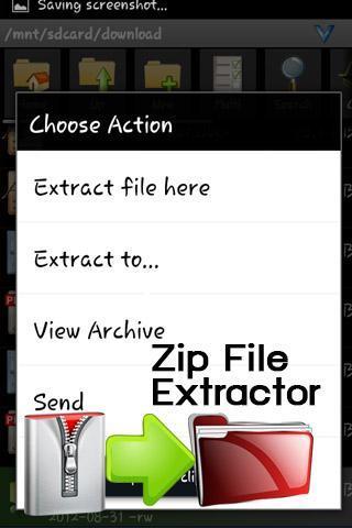 Unrar Unzip ZipViewer