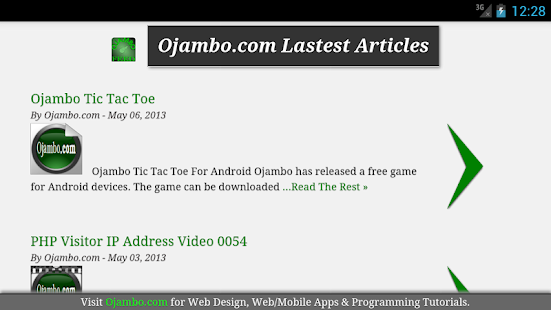 Ojambo.com Feed 2.0- screenshot thumbnail