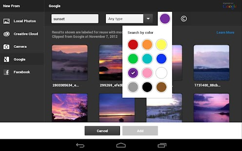 Adobe® Photoshop® Touch - screenshot thumbnail