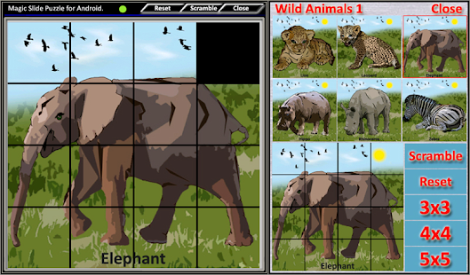 Magic Slide Puzzle W.Animals 1 Screenshot 11