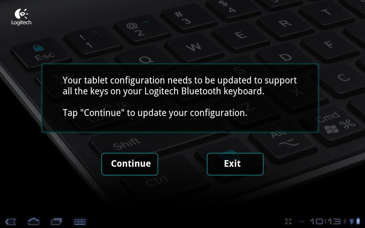Logitech Keyboard Config App - screenshot