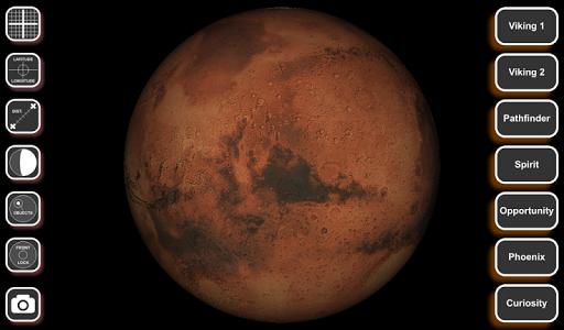 Mars Globe 3D