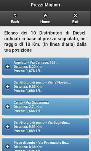 交通運輸必備APP下載|Cerca Distributori Diesel PRO 好玩app不花錢|綠色工廠好玩App