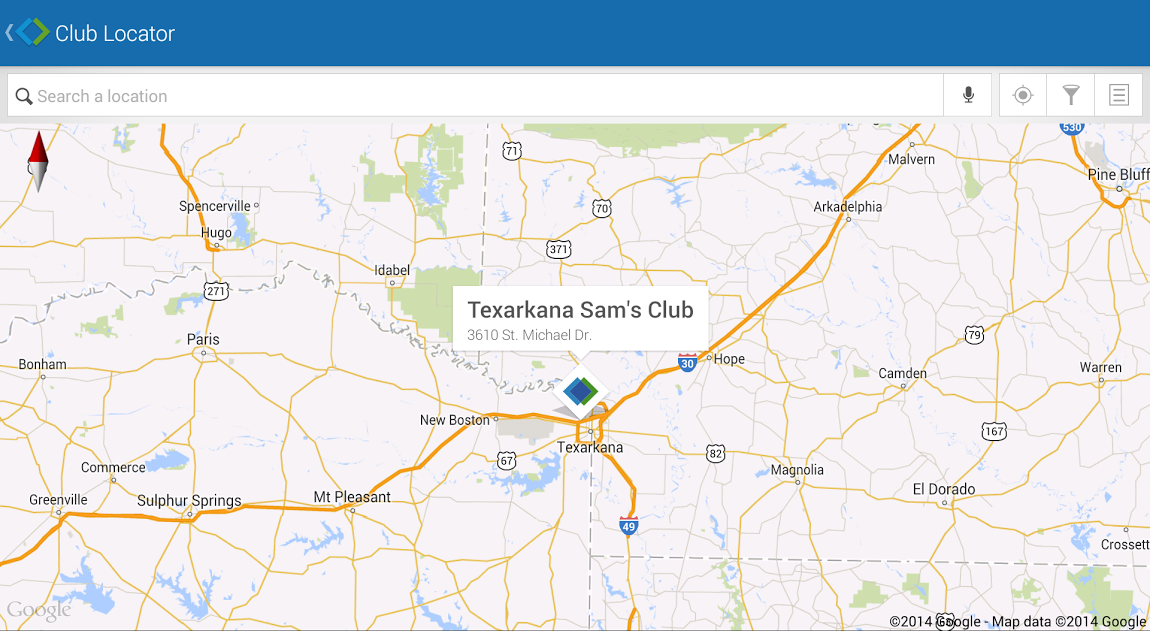 Sam's Club- screenshot