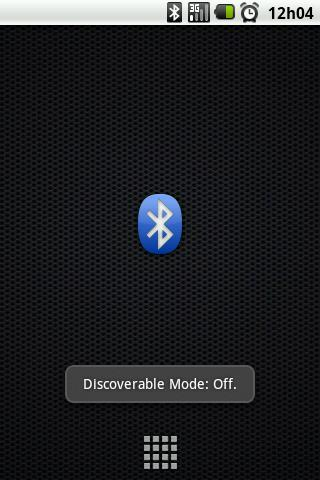 Bluetooth Discoverable - screenshot