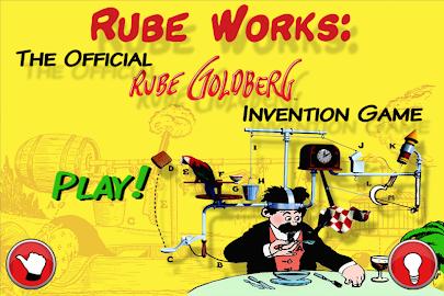 Rube Works: Rube Goldberg Game Screenshot 1