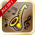Saxophone All-in-one icon