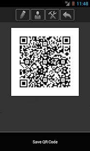 Cardfix QR Business Card - screenshot thumbnail