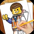 Learn to Draw Lego Movie