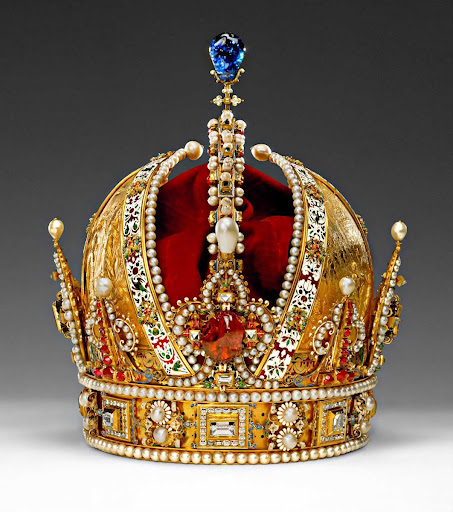 The Crown of Rudolf II, later Crown of the Austrian Empire