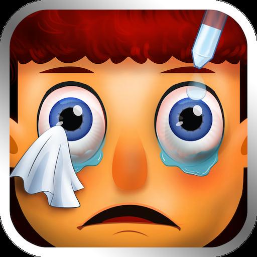 Baby Eye Doctor - Kid Fun Game 休閒 App LOGO-硬是要APP