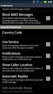 Advanced Call Blocker - screenshot thumbnail