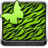 THEME - Green Zebra Butterfly