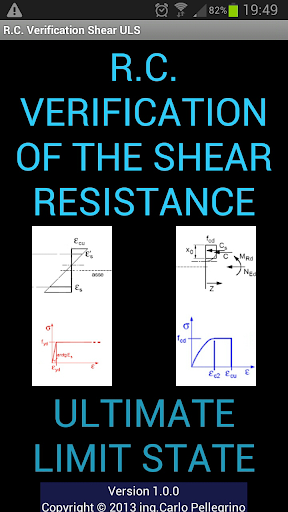 R.C. Verification Shear ULS