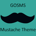 GO SMS Mustache Theme icon