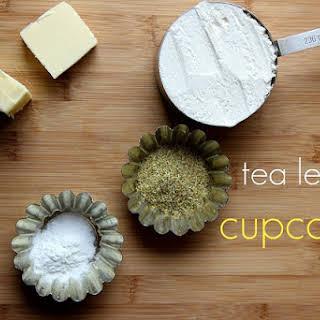 Chamomile Cupcakes with Honey Glaze.