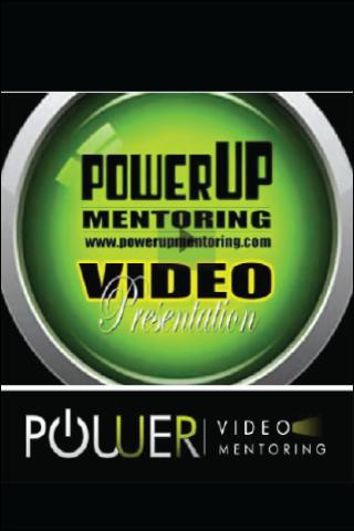PowerUP Video Mentoring App - screenshot
