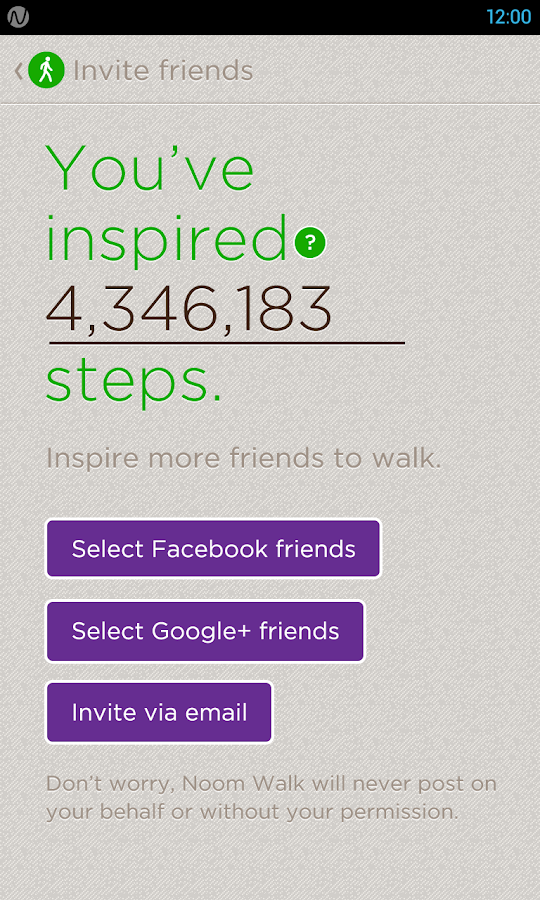 Noom Walk: Pedometer - screenshot