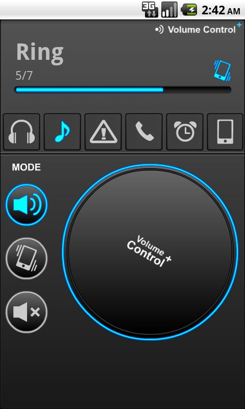 Volume Control +- screenshot