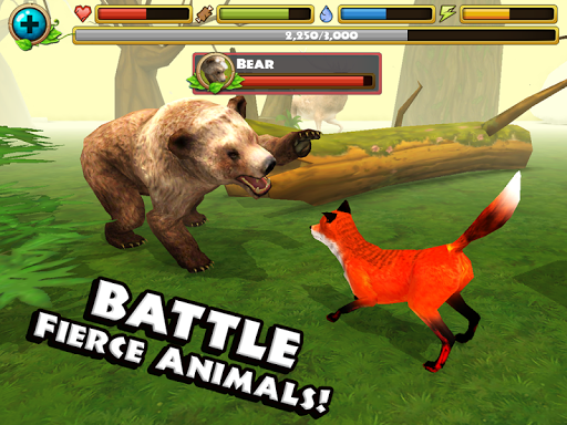 Игра Fox Simulator для планшетов на Android