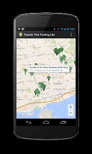 Toronto Free Parking Lite