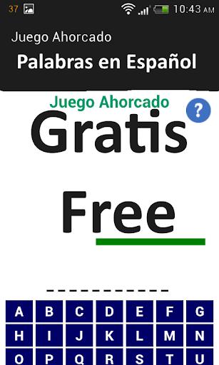 Juegos del Ahorcado gratis