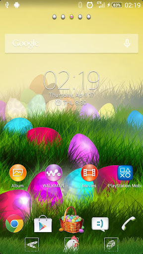 XPERIA™ THEME Easter