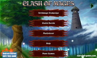 Screenshot of Clash of Mages HD