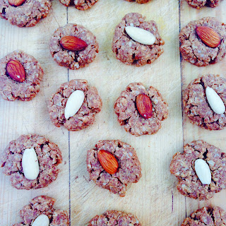 Oaty Peanut Butter Biscuits