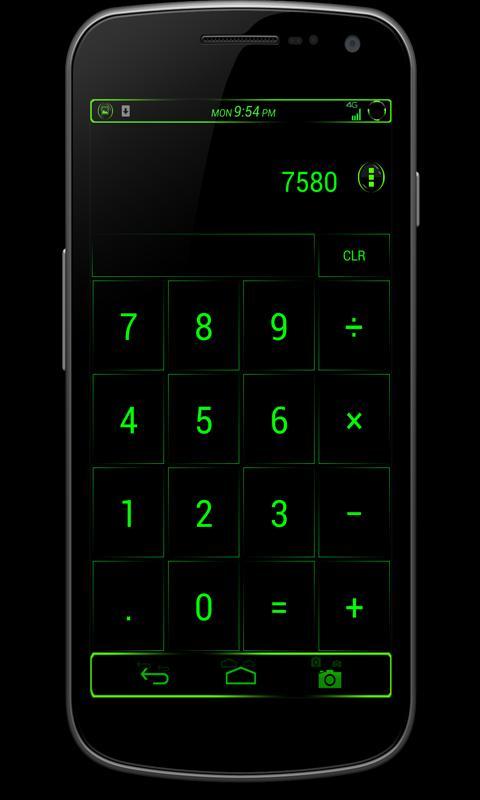 CM10/AOKP Theme: VENOM - screenshot