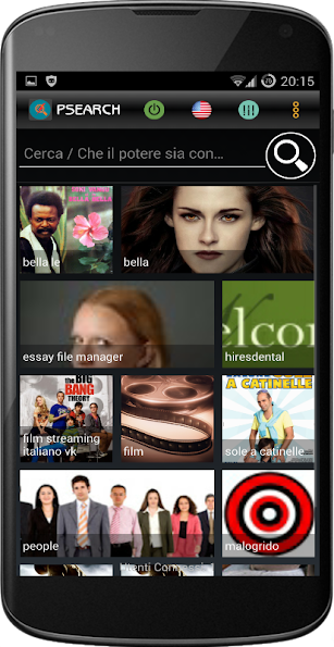 PowerSearch - Social Search screenshot for Android