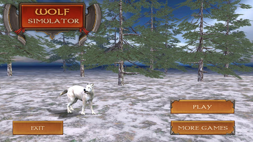 White Wolf Simulator 3D
