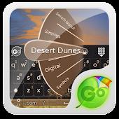 Desert Dunes GO Keyboard Theme