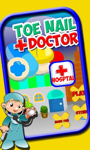 脚趾指甲医生 — 孩子们的游戏