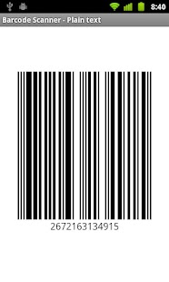 TSR Barcode Scanner - screenshot thumbnail