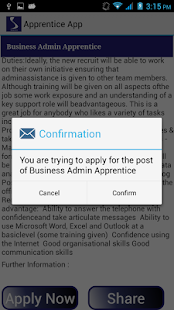 Apprentice App- screenshot thumbnail