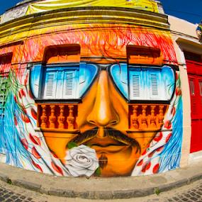 Rua do Amparo by Claudio Maranhao - City,  Street & Park  Street Scenes ( brazil, olinda )