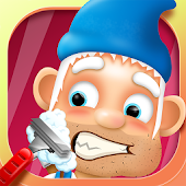 Hairy Face Salon Gnome Shave