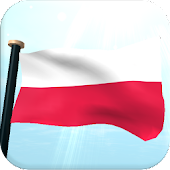 Poland Flag 3D Free Wallpaper