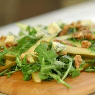 Ripe Pear, Walnut and Gorgonzola Salad.