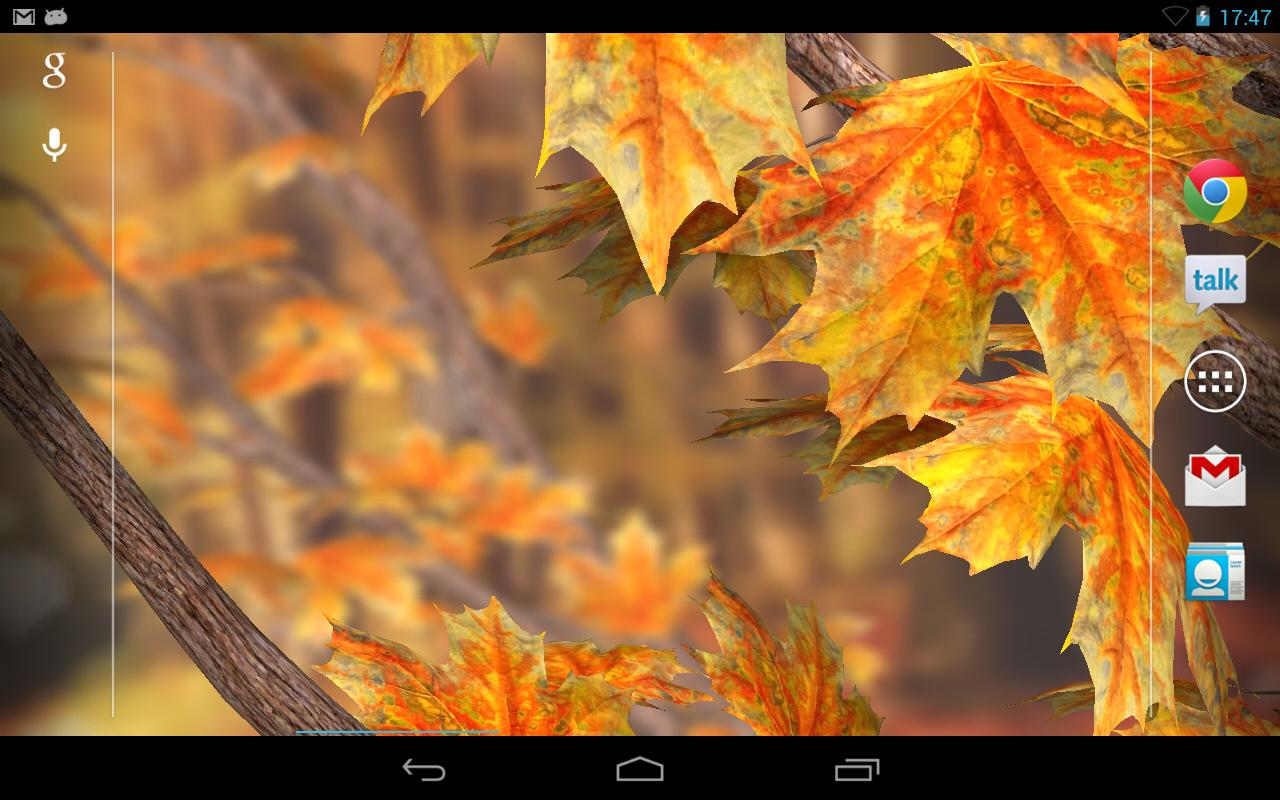 Autumn Tree Live Wallpaper - screenshot