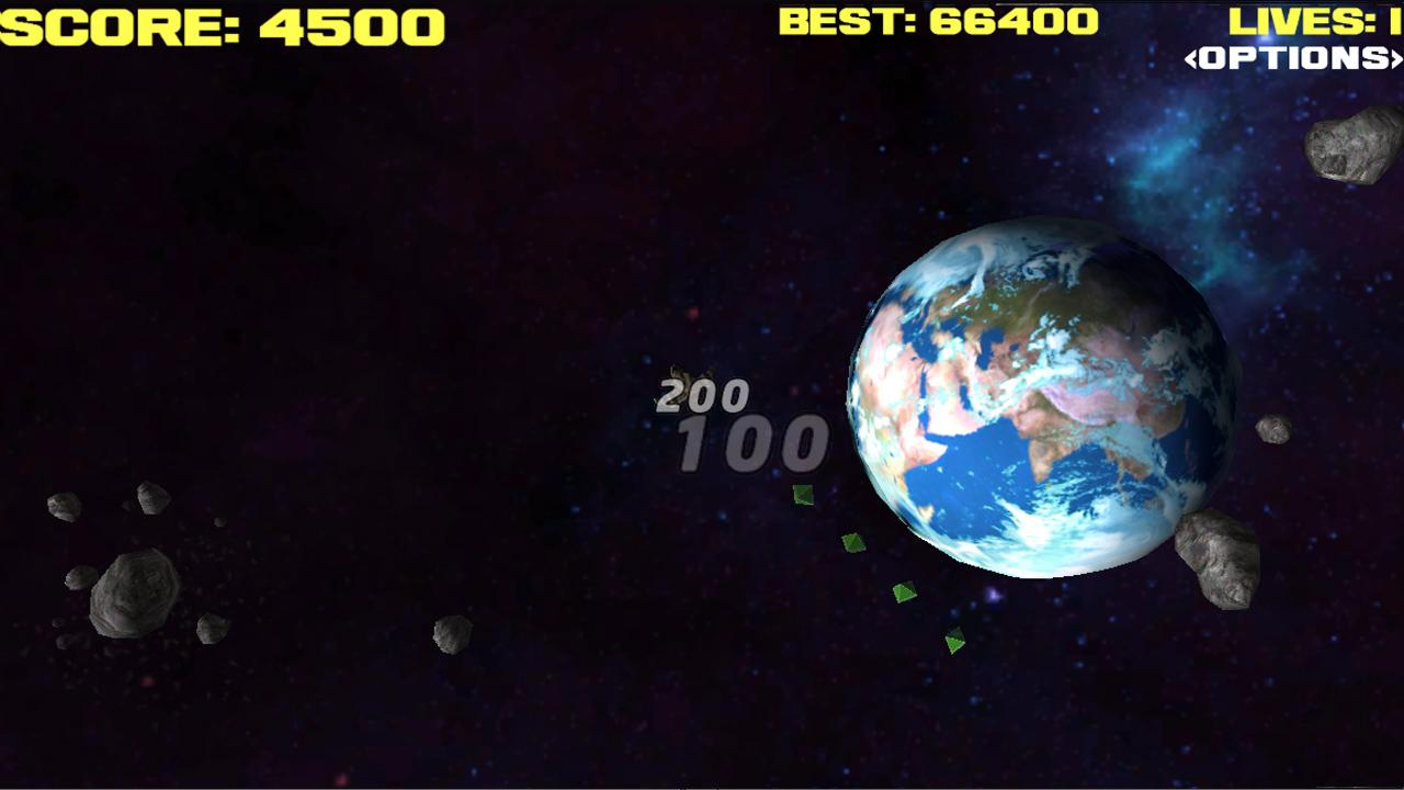 Asteroids Storm Free shooter - screenshot