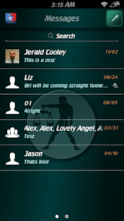 Libra Zodiac Theme for GO SMS- screenshot thumbnail